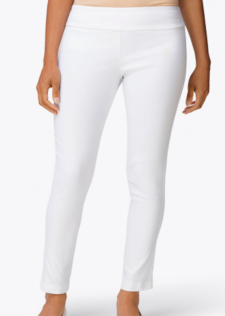Elliott Lauren | Classic Pant Pull-On Ankle Pant | White