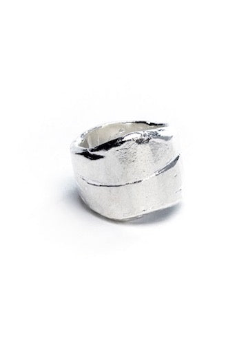 Heorth | Earth Ring | Sterling Silver