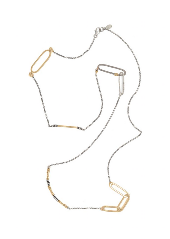 J&I Jewelry | Elongated Loop Necklace