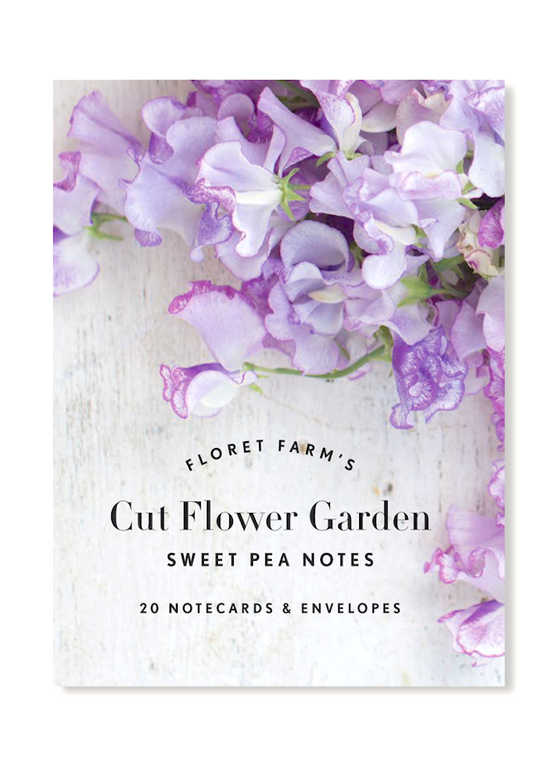 Floret Farm's Cut Flower Garden | Sweet Pea Note Cards