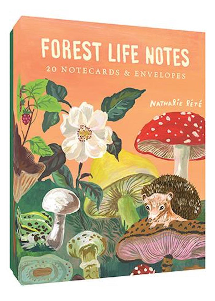 Forest Life Note Cards | ART BY NATHALIE LÉTÉ