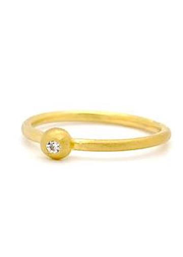Heorth | Spotlight Ring | 18K Gold + Diamond