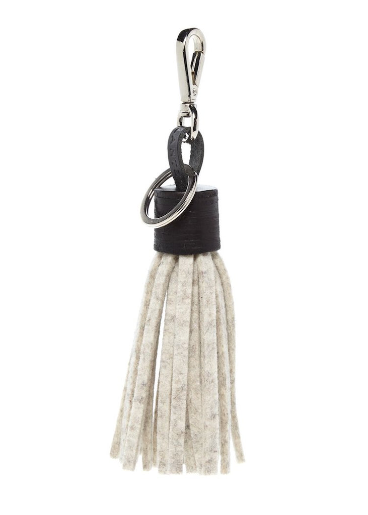 Graf Lantz | Felt Tassel | Heather White