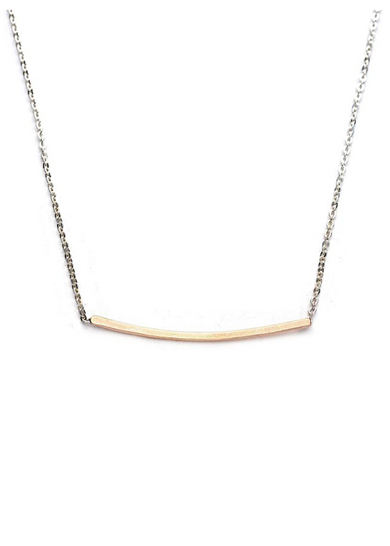 J&I Jewelry | Horizontal Bar Necklace