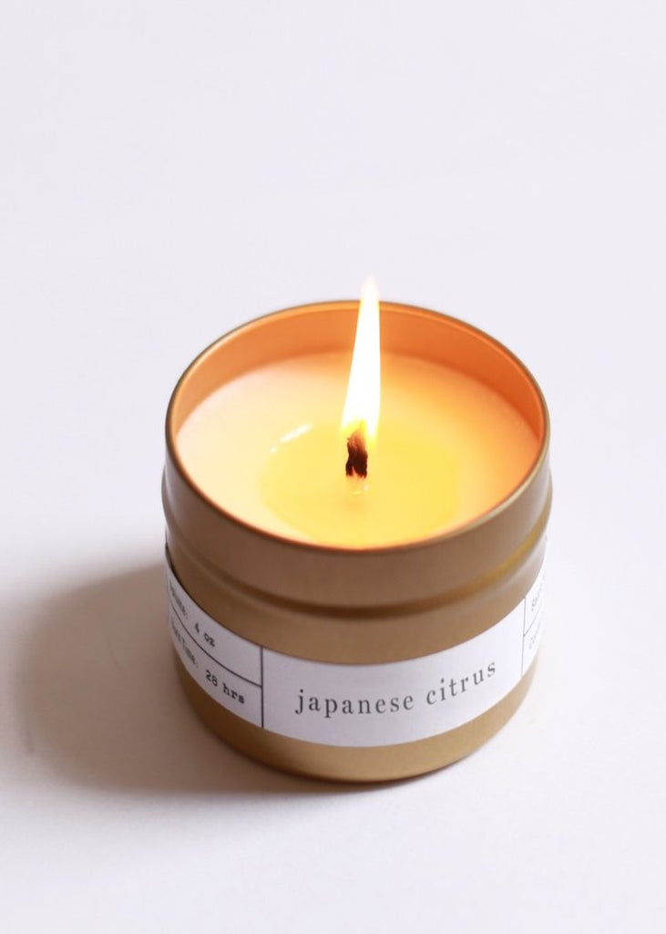 Japanese Citrus Travel Candle