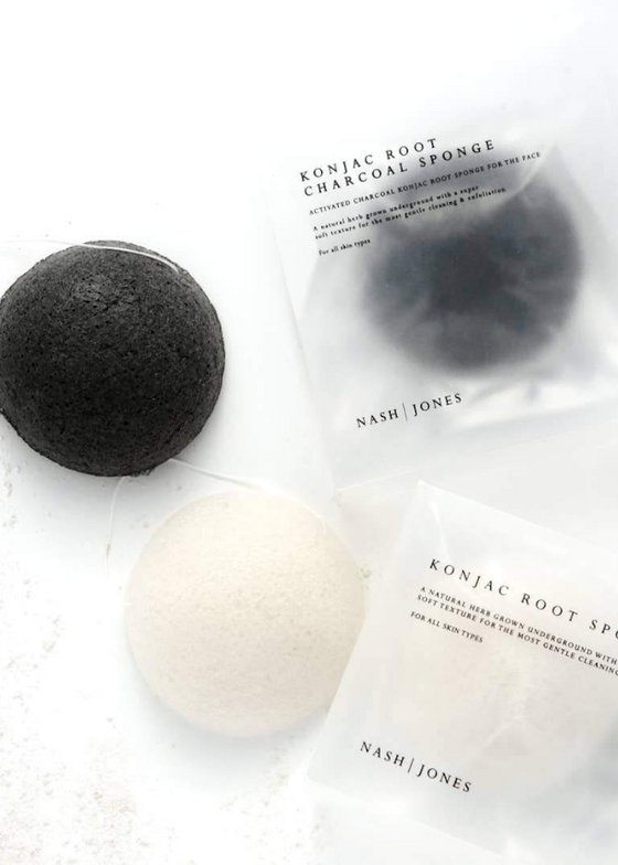 Nash + Jones | Konjac Face Sponge