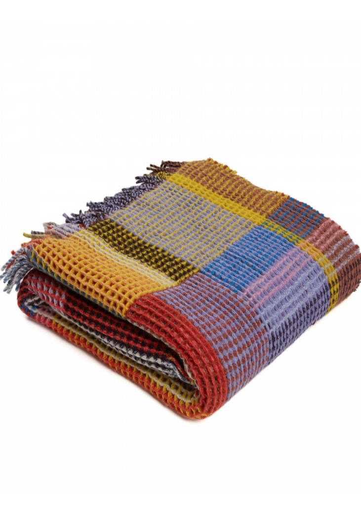 Wallace Sewell | Honeycomb Throw | Edith
