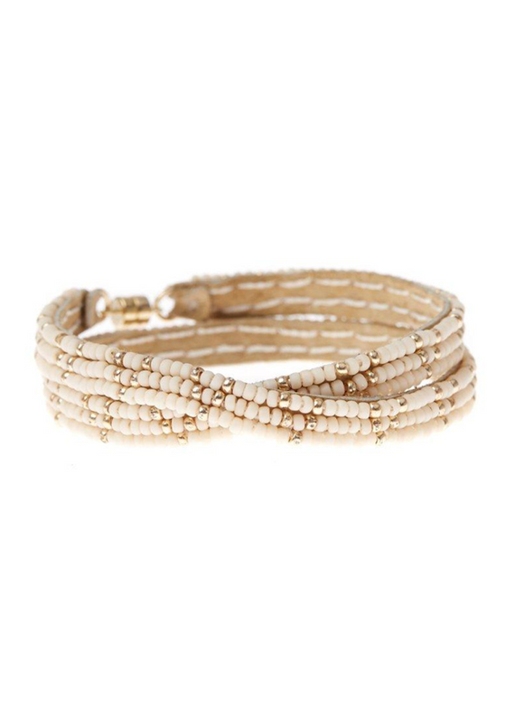 Sidai Designs | 3 Dot Simple Extra Small Double Wrap Bracelet