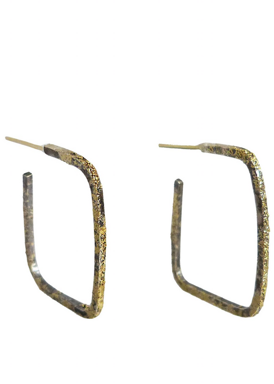 Kate Maller | Slice Square Hoops
