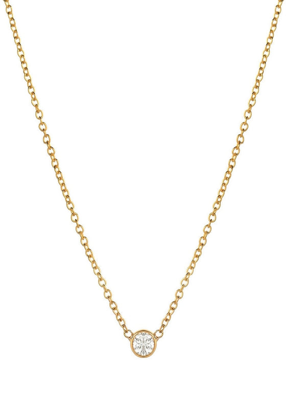 Heorth | Sophie Necklace | 14K Gold + Diamond