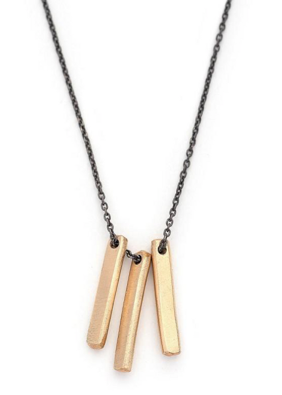 J&I Jewelry | Vertical Bar Necklace
