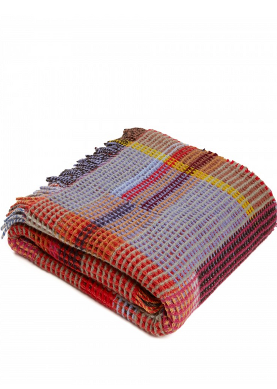 Wallace Sewell | Honeycomb Throw | Dorothy