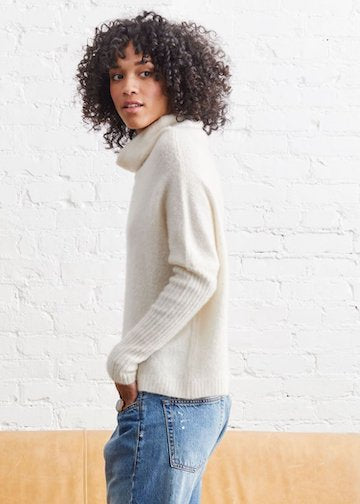 Not Monday | Abigail Cloud Cashmere Pullover
