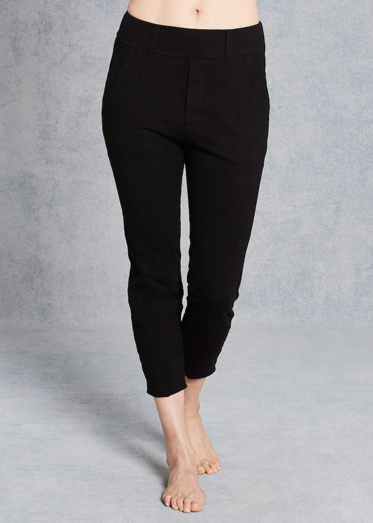 Frank & Eileen | Stretch Trouser Leggings | Black