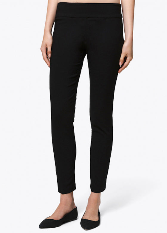 Elliott Lauren | Classic Pant Pull-On Ankle Pant | Black