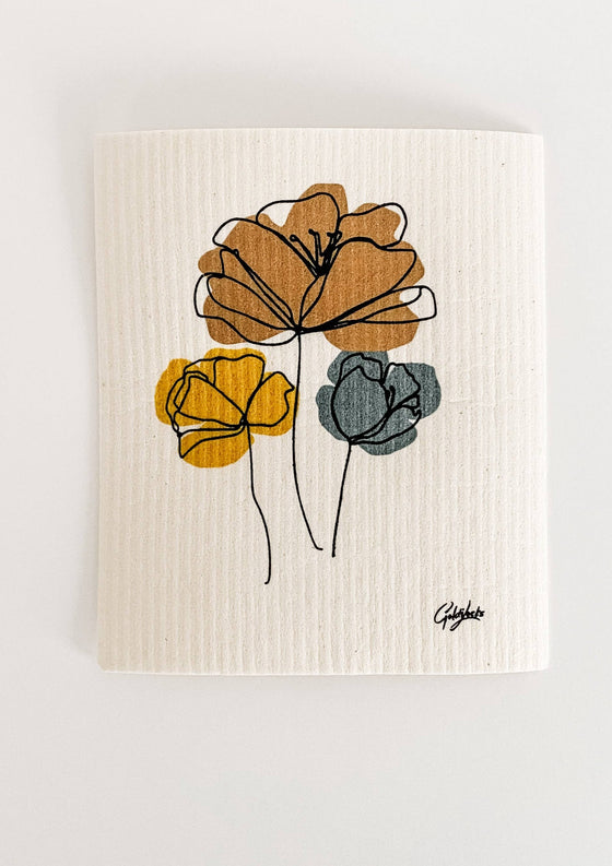 Swedish Dishcloth: Harvest Bouquet