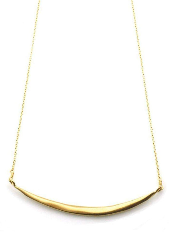 Philippa Roberts | Curved Bar Necklace