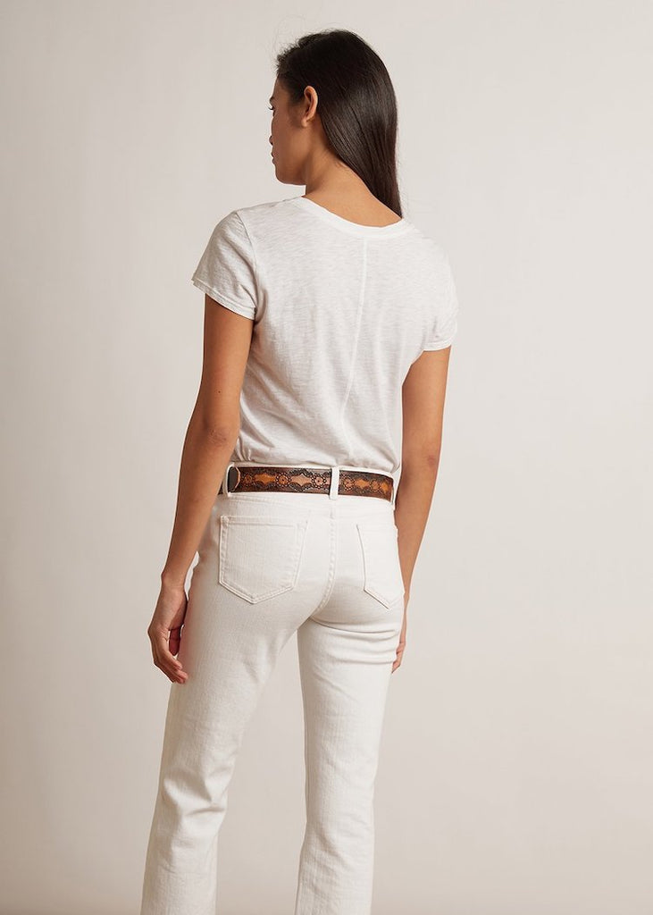 Velvet by Graham & Spencer | Odelia Tee | White