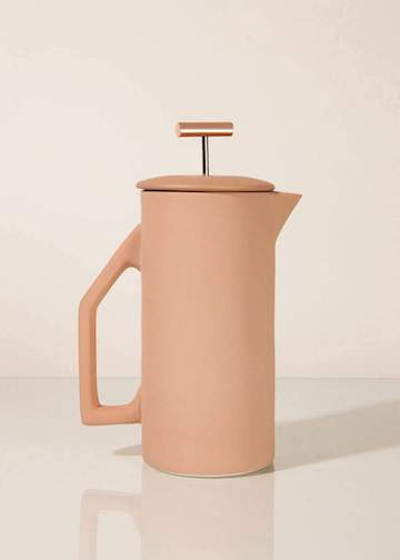 Yield | Ceramic French Press | Sand