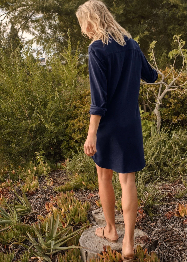 Frank & Eileen | Mary Relaxed Button-Up Shirt Dress