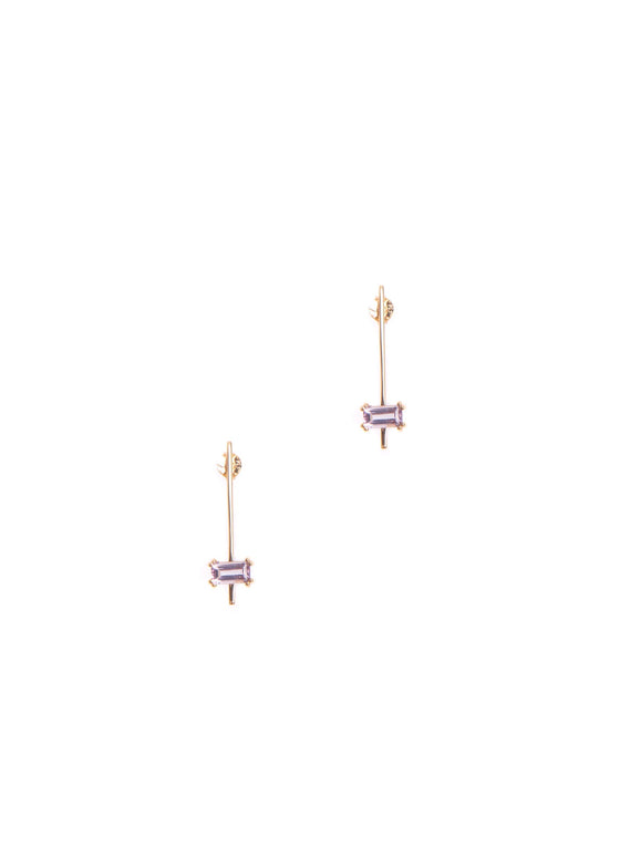 Hailey Gerrits | Nile Earrings in Pink Amethyst