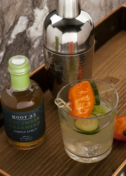 ROOT 23  | Cucumber Habanero Simple Syrup