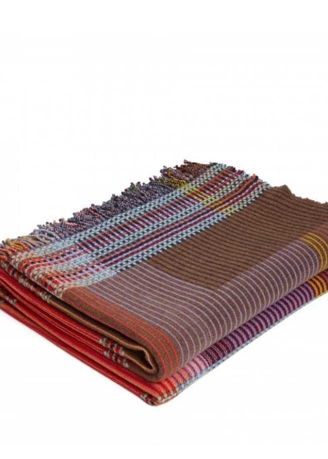 Wallace + Sewell | Rosalind Pinstripe Throw