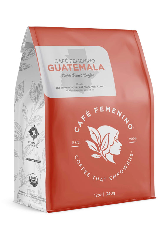 Café Femenino | Organic Fair Trade Guatemala Whole Bean Coffee