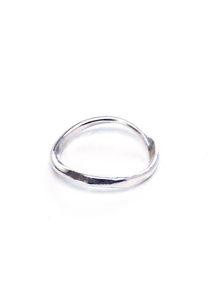 Heorth | Air Stacking Ring | Silver