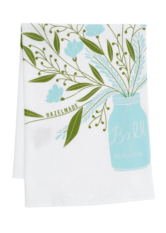 Hazelmade | Mason Jar Bouquet Kitchen Towels