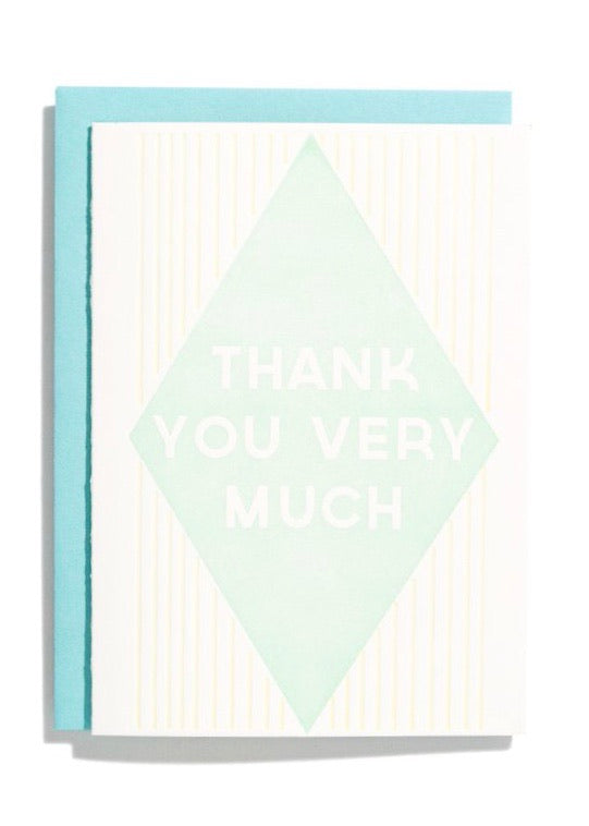 Iron Curtain Press | Thank You Diamond Mint