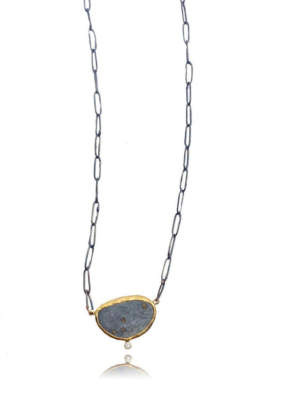 Jessica Weiss | Slate Diamond Necklace