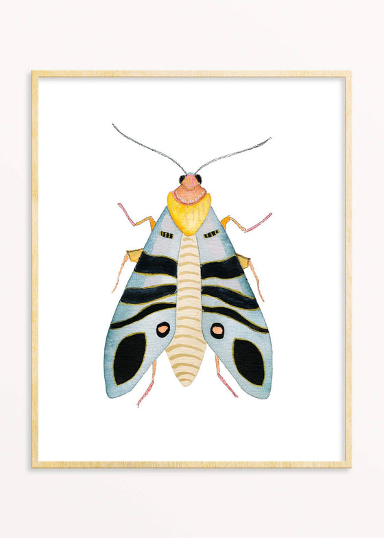 Snoogs & Wilde Art | Blue Bug Art Print