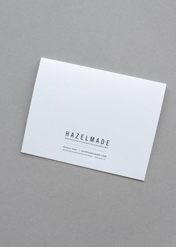 Hazelmade | Note Card