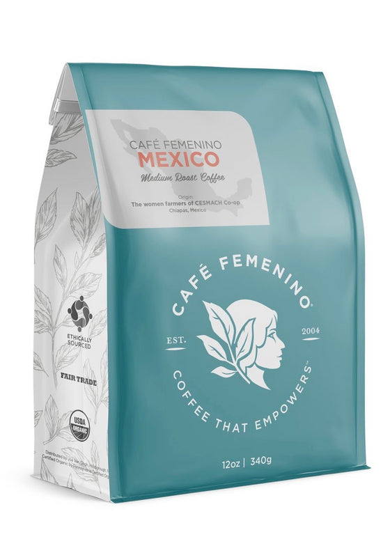 Café Femenino | Organic Fair Trade Mexico Whole Bean Coffee