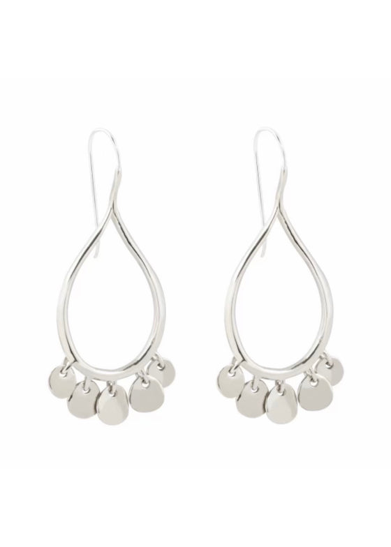 Marisa Mason | Dia Earrings Sterling Silver