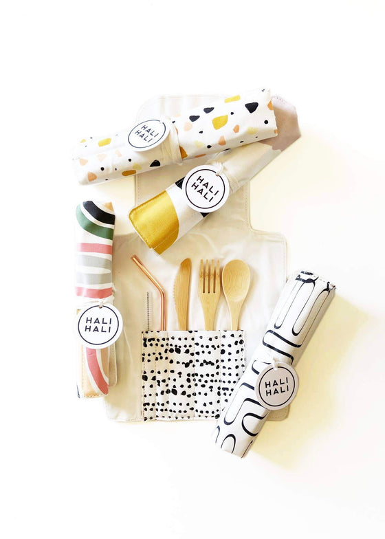 Hali Hali | Eco-Friendly Reusable Cutlery Set