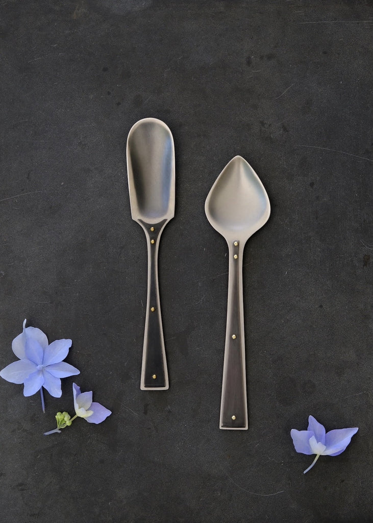 Erica Moody | Pressed Stainless Spoon Pointed