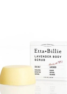 Lavender Sea Salt Body Scrub Bar