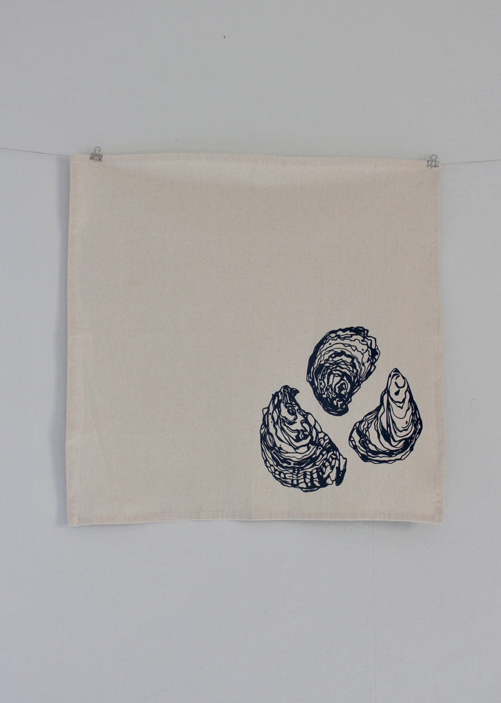 Organic Cotton Napkins | Set of 4 | Oyster