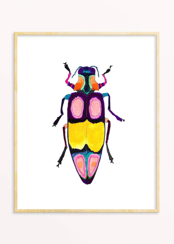Snoogs & Wilde Art | Beetle #2 Art Print