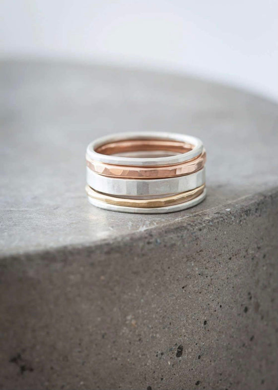 Colleen Mauer | 5 Stack Round Rings