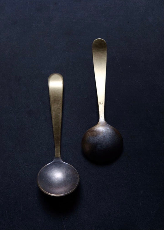 Erica Moody | Brass | Small Tinned Spoon