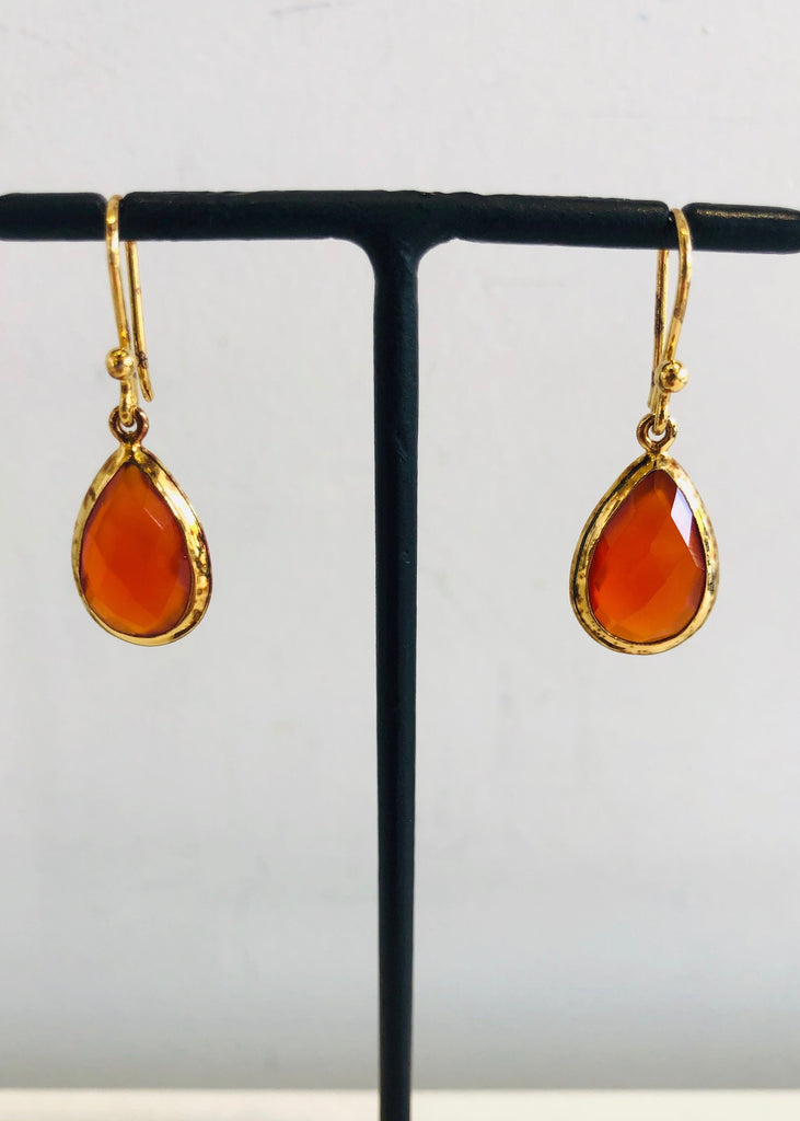 Stephen Estelle | Red Onyx Earring