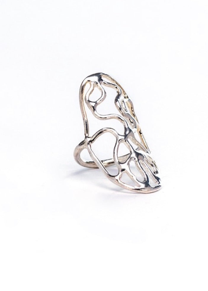 Heorth | Water Ring | Sterling Silver