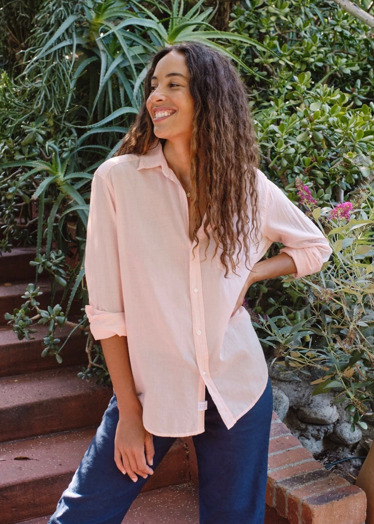 Frank & Eileen | Eileen Voile Button-Up