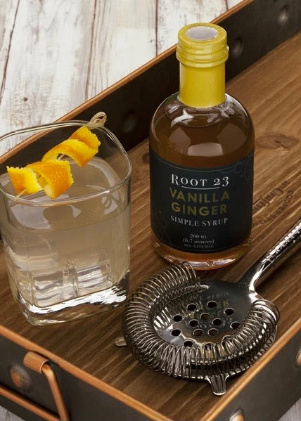 ROOT 23 - Vanilla Ginger Simple Syrup