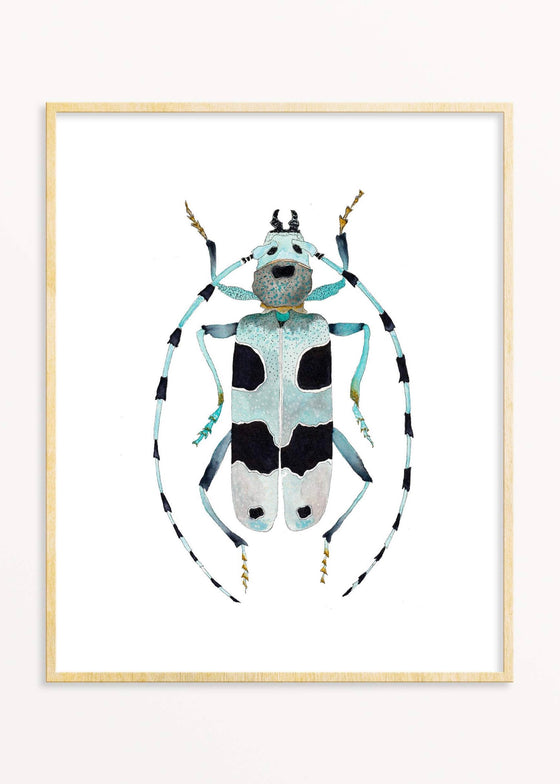 Snoogs & Wilde Art | Beetle #5 Art Print