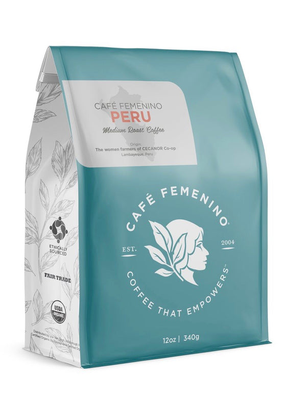 Café Femenino | Organic Fair Trade Peru Whole Bean Coffee