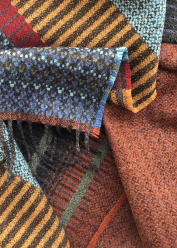 Wallace + Sewell | Kyoto Rust Lambswool Scarf